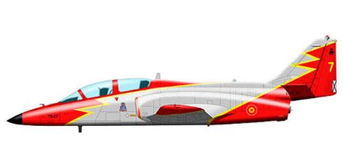 CASA C-101 Aviojet, Patrulla Aguila, Fuerza Aérea Española.