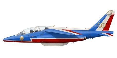 Dassault Alpha Jet E, Patrouille de France, 60º Aniversario, 2013.