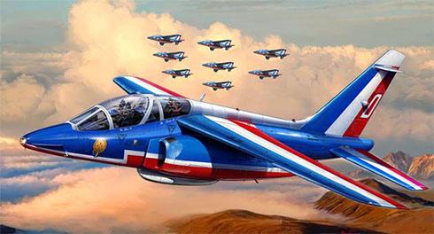 Dassault Alpha Jet E, Patrouille de France, Armée de l'Air.