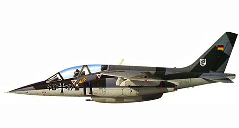 Dornier Alpha Jet A, Jabo G49, Luftwaffe, 1982.