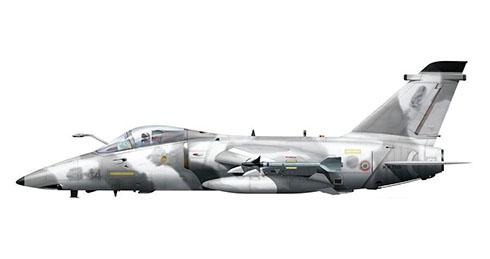 Embraer AMX Ghibli, 51º Stormo, 132º Gruppo, Aeronautica Militare Italiana, Base Aérea de Treviso.