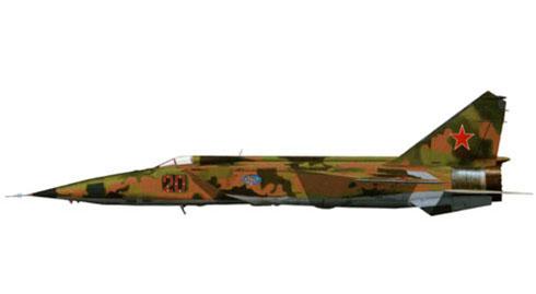 MIG-25 RBF Foxbat, 47º GvORAP, 2º Escuadrón, URSS Air Force.