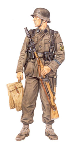 Soldados, Uniformes y Escenas de la Segunda Guerra Mundial (Dibujos y Pinturas) Soldado-de-las-ss-27c2aa-ss-grenadier-division-langemarck-cabeza-de-puente-altdamm-1945
