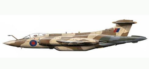 Hawker Siddeley Buccaneer S.Mk.2B, de la RAF.