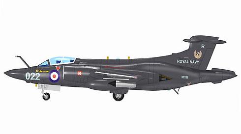 Hawker Siddeley Buccaneer S2,  809º Escuadrón, HMS Ark Royal, Royal Navy.