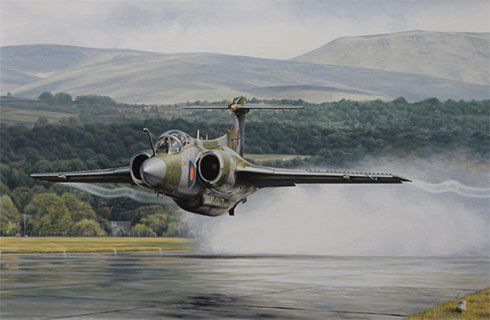 Hawker Siddeley Buccaneer SB.2, 208º Escuadrón, Royal Air Force.