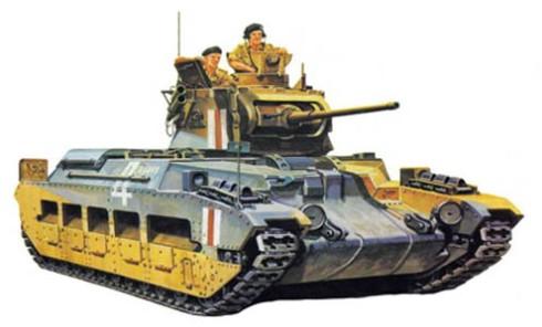 Tanque de Inf. Mk.II Matilda, Norte de Africa, 1941.