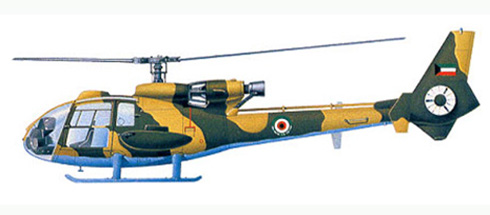 Aerospatiale Gazelle As-342, Kuwait Air Force.