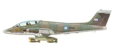 FMA IA-58 Pucará, Fuerza Aérea Argentina, Malvinas, 1982.