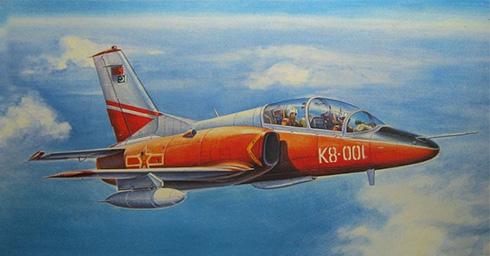 Hongdu JL-8-K-8 Karakorum, Fuerza Aérea del Ejército Popular de Liberación.