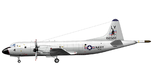 Lockheed P-3 A Orion, VP-92, NAS South Weymouth, Marina de los Estados Unidos.