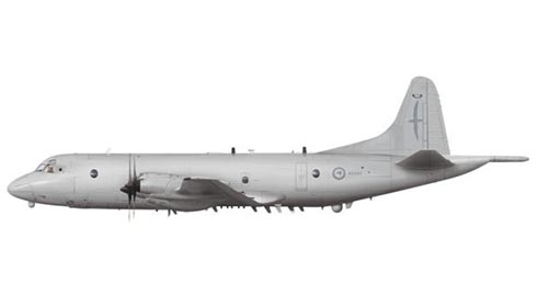 Lockheed P-3 K2 Orion, Royal Rew Zealand Air Force, Base de Auckland.