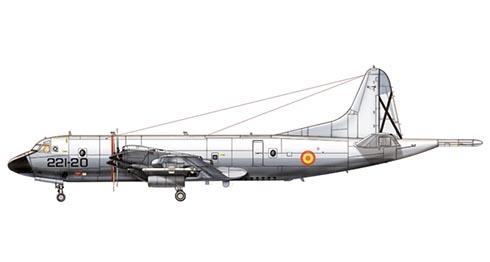 Lockheed P-3B Orion, Ala 22  del Mando Aéreo Táctico, Fuerza Aérea Española.