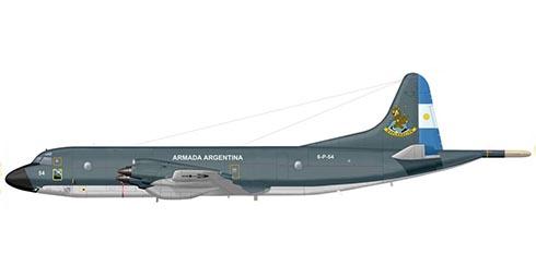 Lockheed P-3B Orion, Armada de la Rep. de Argentina, Escuadrilla Aeronaval de Exploración, Trelew, Argentina.
