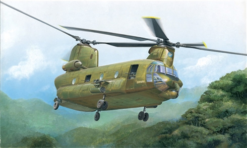 Boeing CH-47 Chinook, U.S. Army, 1968.