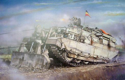 CRARRV (ChallengeR Armoured Repair and Recovery Vehicle, o Vehículo Challenger Blindado de Reparación y Recuperación) es un vehículo blindado de recuperación basado en el chasis del Challenger