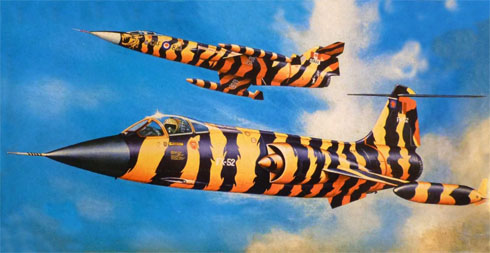 F-104G Starfighter Tiger Meet, Canadian Air Group, Canadian Armed Forces