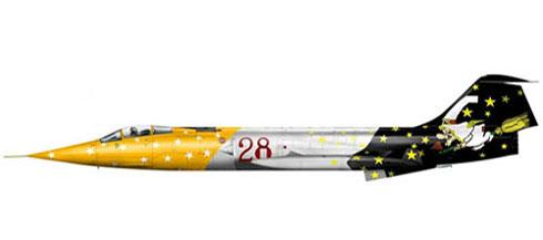 Lockheed Fiat F-104 G Starfighter, 3º Stormo 'Carlo Emanuele Buscaglia', 28º Gruppo, Villafranca Verona, 1989