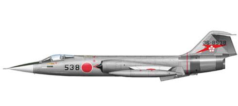 Lockheed-Mitsubishi F-104 J Starfighter, 207º Hikotai, 7º Kokudan, Japan Air Self-Defence Force, 1970