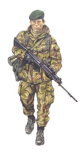 Marine, 40 Commando, Falkland Islands, Mayo de 1982