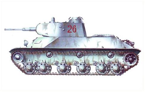 Carro de combate ligero T-50, Leningrado, Invierno de 1942