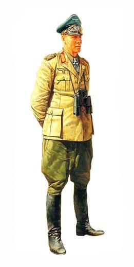 Feldmarschall Rommel, Afrika Korps, 1943.
