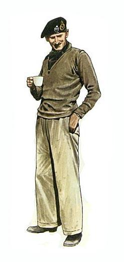 General Sir Bernard Law Montgomery,  Comandante del 8º Ejército Británico,  Norte de Africa, 1942.