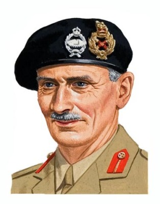 General Sir Bernard Law Montgomery.