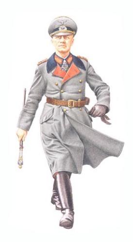 Generalfeldmarschall Erwin Rommel, Costa de Francia, primavera de 1944.