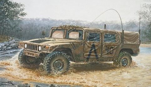 HMMWV M998, U.S. Marines.