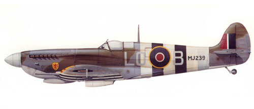 Kenneth Charney Supermarine-spitfire-lf-ix-teniente-kenneth-charney-602c2ba-escuadrc3b3n-de-la-raf-longues-normandc3ada-julio-de-1944