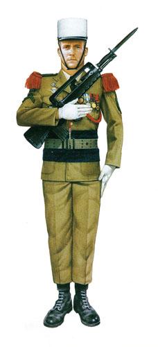 Cabo, 2º Regimiento Paracaidista Extranjero , Calvi, 1982.
