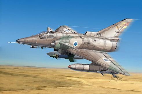 Kfir C-7, Fuerza Aérea de Israel, 1985.