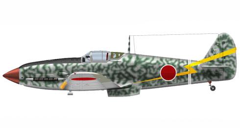 Kawasaki Ki-61-I Hien,  50º Regimiento, 2º Escuadrón, Burma, 1944.