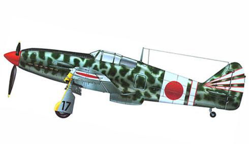 Kawasaki Ki-61-I-Kai Hien, 18º Regimiento. 1er. Escuadrón, Japón, 1944.