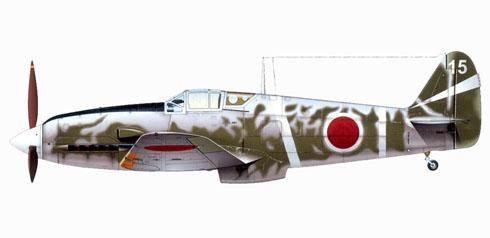 Kawasaki Ki-61-I-Ko Hien, 68º Regimiento, Japón, 1944.