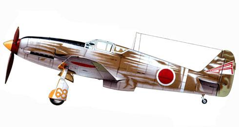 Kawasaki Ki-61-I-Tei Hien, 105º Regimiento, 3er. Escuadrón, Japón, 1945.