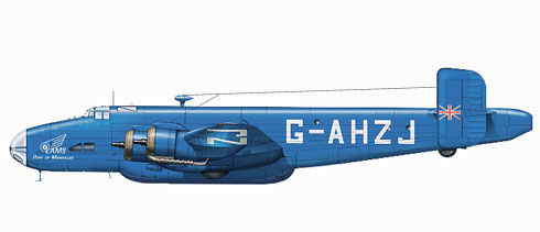 Handley Page Halifax C Mk.VIII, London Aero Motor Services.