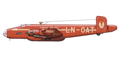 Handley Page Halifax C Mk.VIII, Vingtor Airways.