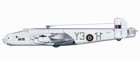 Handley Page Halifax Mk.V Serie 1A, 518º Escuadrón, 1945.