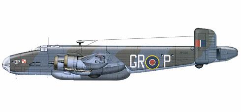 Handley Page Hlifax C Mk.VIII, 301º Escuadrón Polaco, 1946.