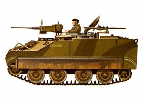 M113 C&R command and reconnaissance, ejército del Canadá, 1974.