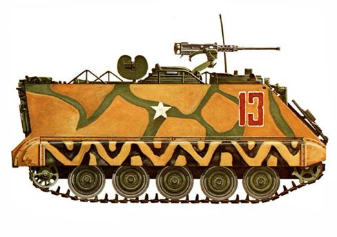 M113A1 perteneciente al ARVN, Vietnam. 1969.