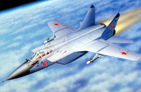 Mikoyan-Gurevich MIG-31 Foxhound, Fuerza Aérea Rusa.