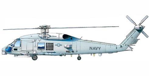 Sikorsky UH-60 B SeaHawk, HSL-41, US Navy.
