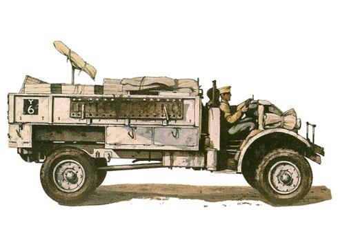 Ford F30 30cwt 'Aramis', Patrulla Y2, LRDG, Libia, 1941.