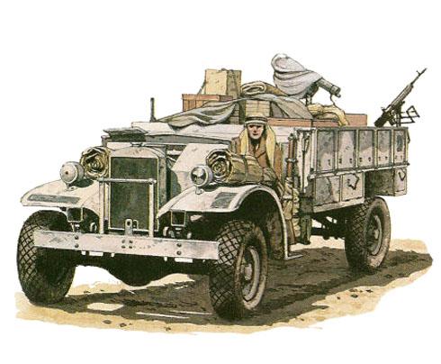 Ford F30 Cwt Patrulla G1 Lrdg Invierno De 1942