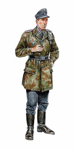 Oberwachtmeister, 5º Regimiento de Artillería, Crimea, 1943.