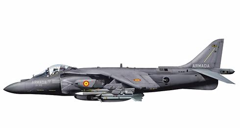 McDonnell Douglas AV-8B Harrier II, 9ª Escuadrilla, Armada Española, 2012.