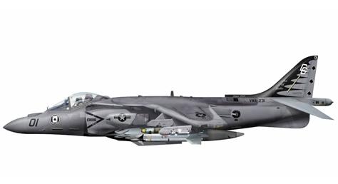 McDonnell Douglas AV-8B+ Harrier II, VMA-231, Marine Corps Cherry Point Base.